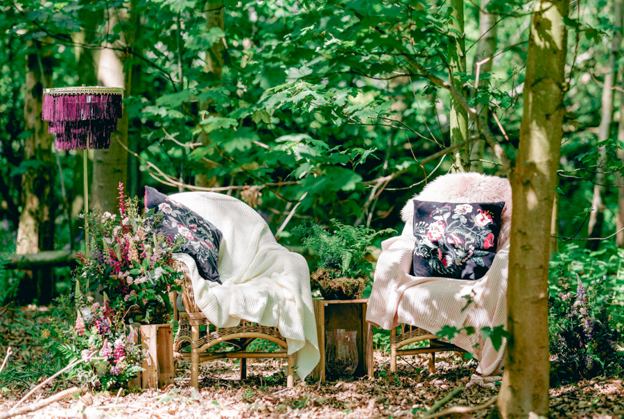 Styled boho woodland shoot in Essex, image credit Hayley Jane Photography (29)