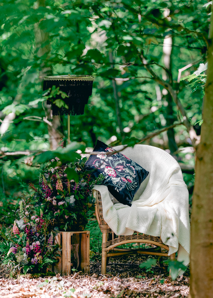 Styled boho woodland shoot in Essex, image credit Hayley Jane Photography (28)