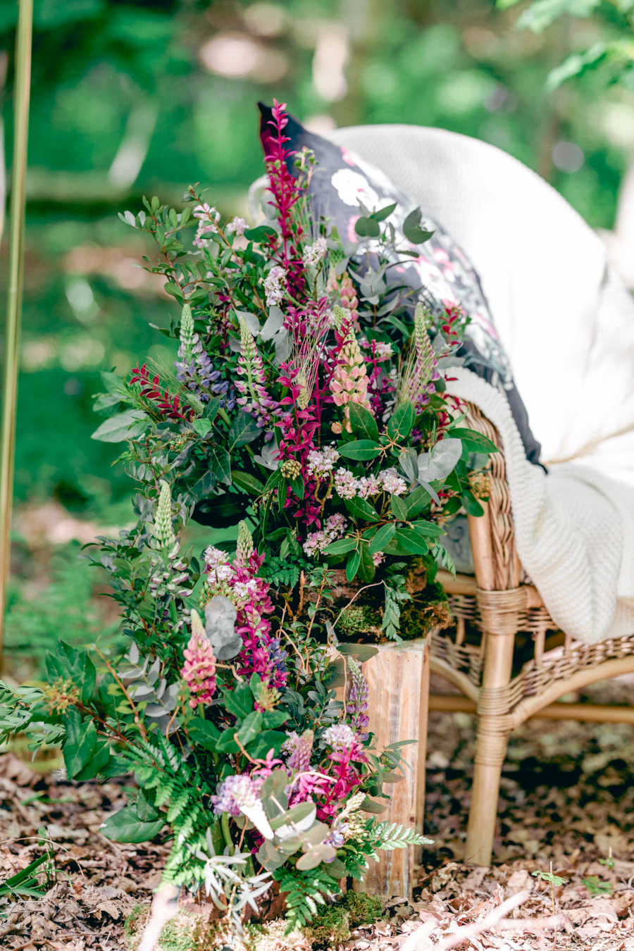 Styled boho woodland shoot in Essex, image credit Hayley Jane Photography (27)