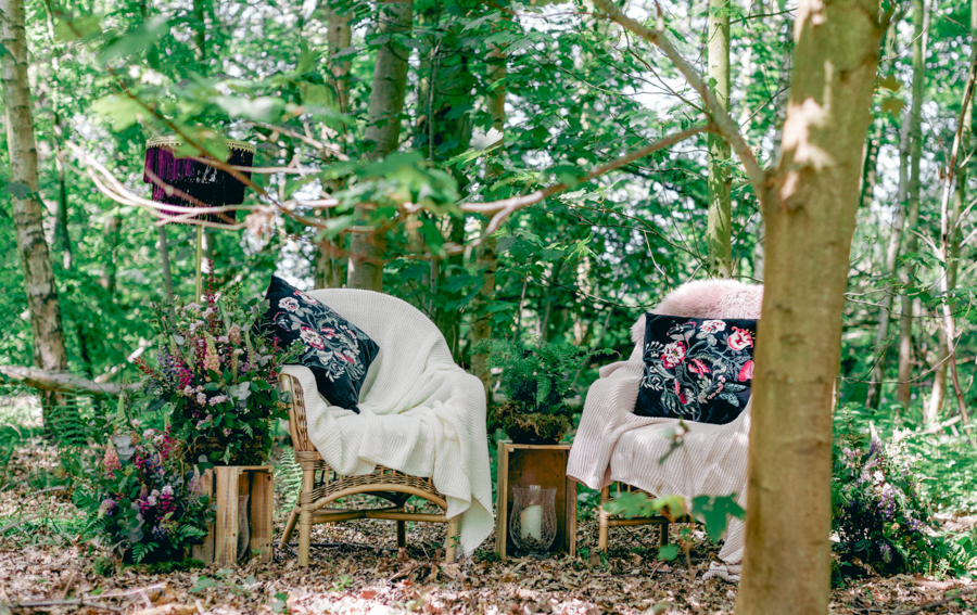 Styled boho woodland shoot in Essex, image credit Hayley Jane Photography (26)