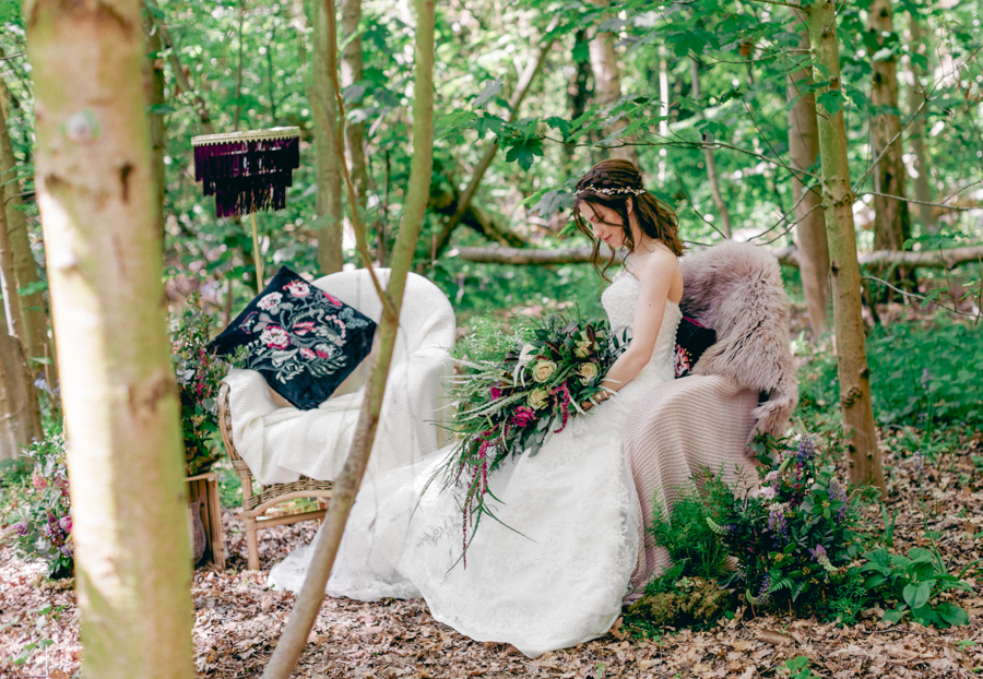 Styled boho woodland shoot in Essex, image credit Hayley Jane Photography (23)