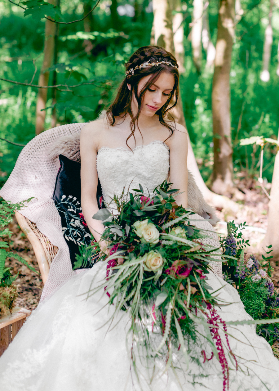 Styled boho woodland shoot in Essex, image credit Hayley Jane Photography (22)