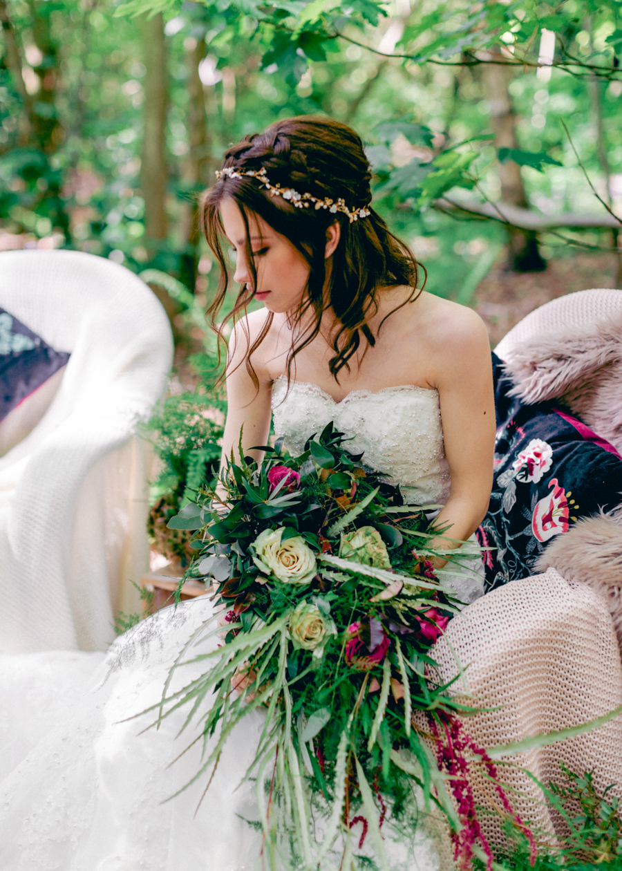 Styled boho woodland shoot in Essex, image credit Hayley Jane Photography (20)