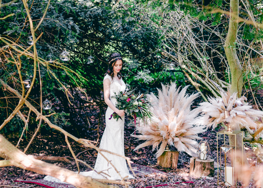 Styled boho woodland shoot in Essex, image credit Hayley Jane Photography (19)
