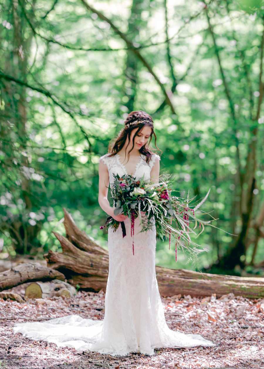 Styled boho woodland shoot in Essex, image credit Hayley Jane Photography (18)
