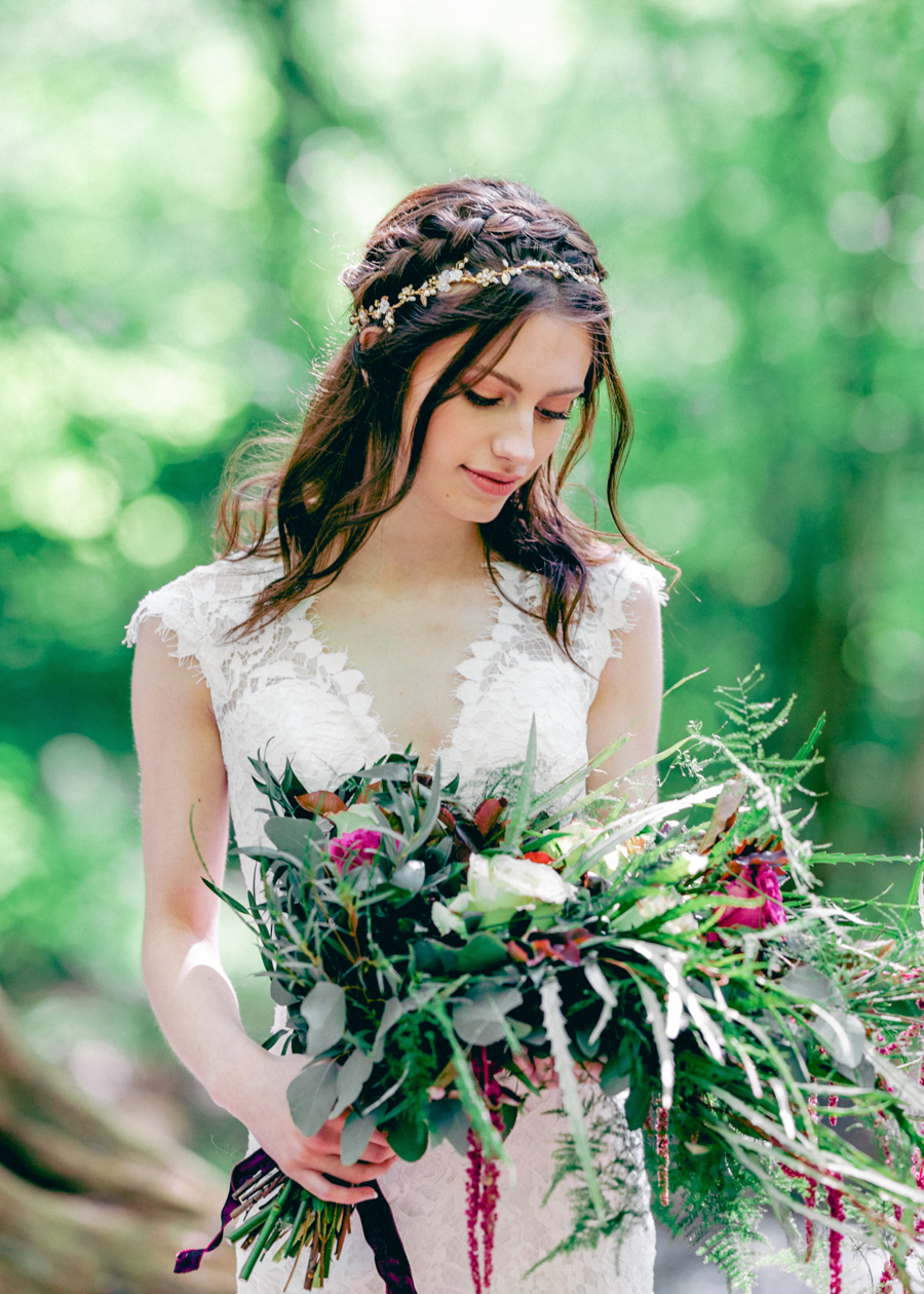 Styled boho woodland shoot in Essex, image credit Hayley Jane Photography (17)