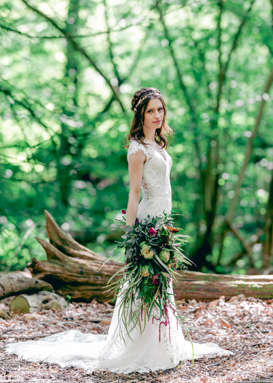 Styled boho woodland shoot in Essex, image credit Hayley Jane Photography (16)