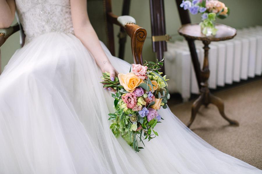'Understated Elegance' Spring Styled Hampshire Bridal Shoot – Rownhams House, photo credit Nisha Haq Photography (4)