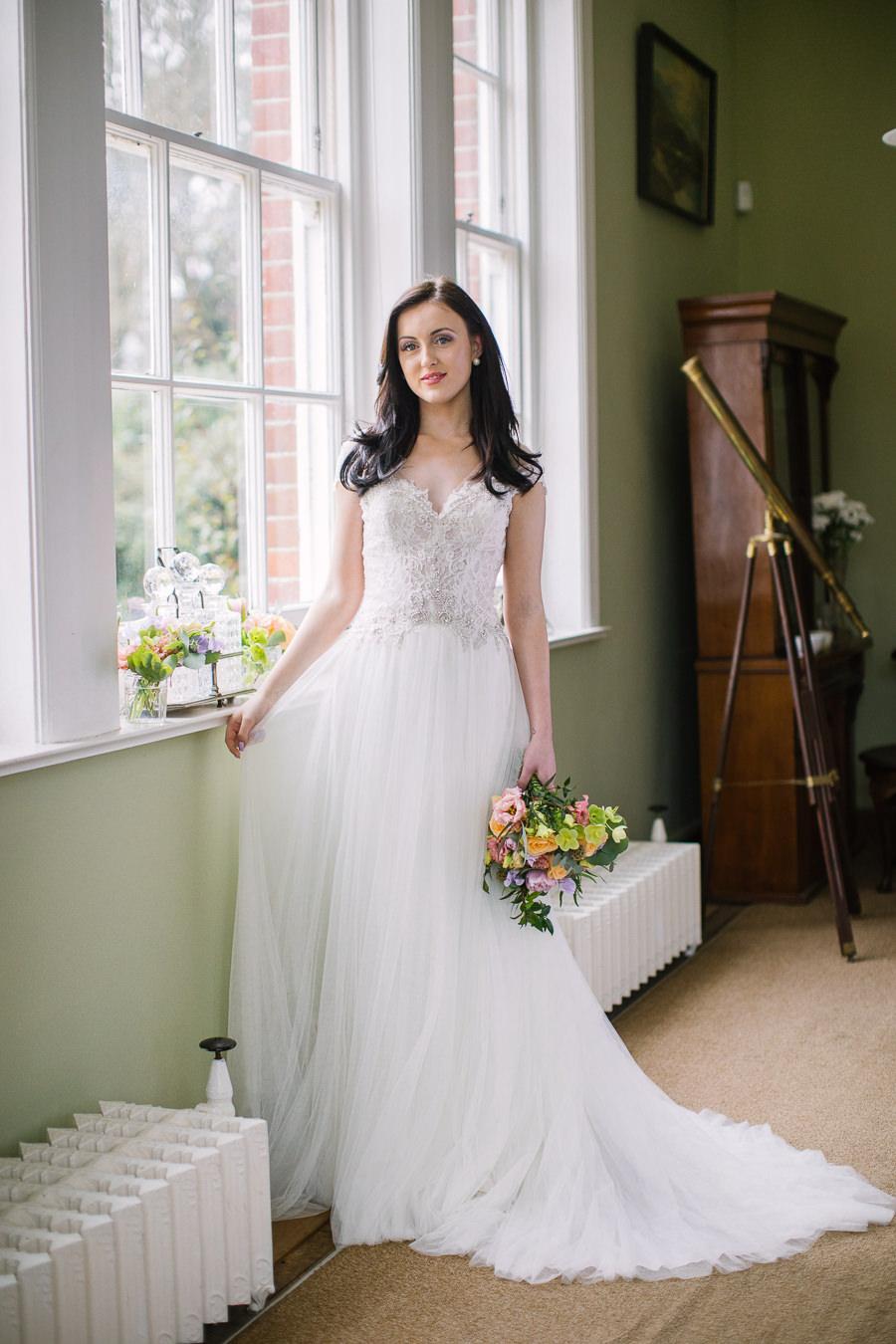 'Understated Elegance' Spring Styled Hampshire Bridal Shoot – Rownhams House, photo credit Nisha Haq Photography (6)