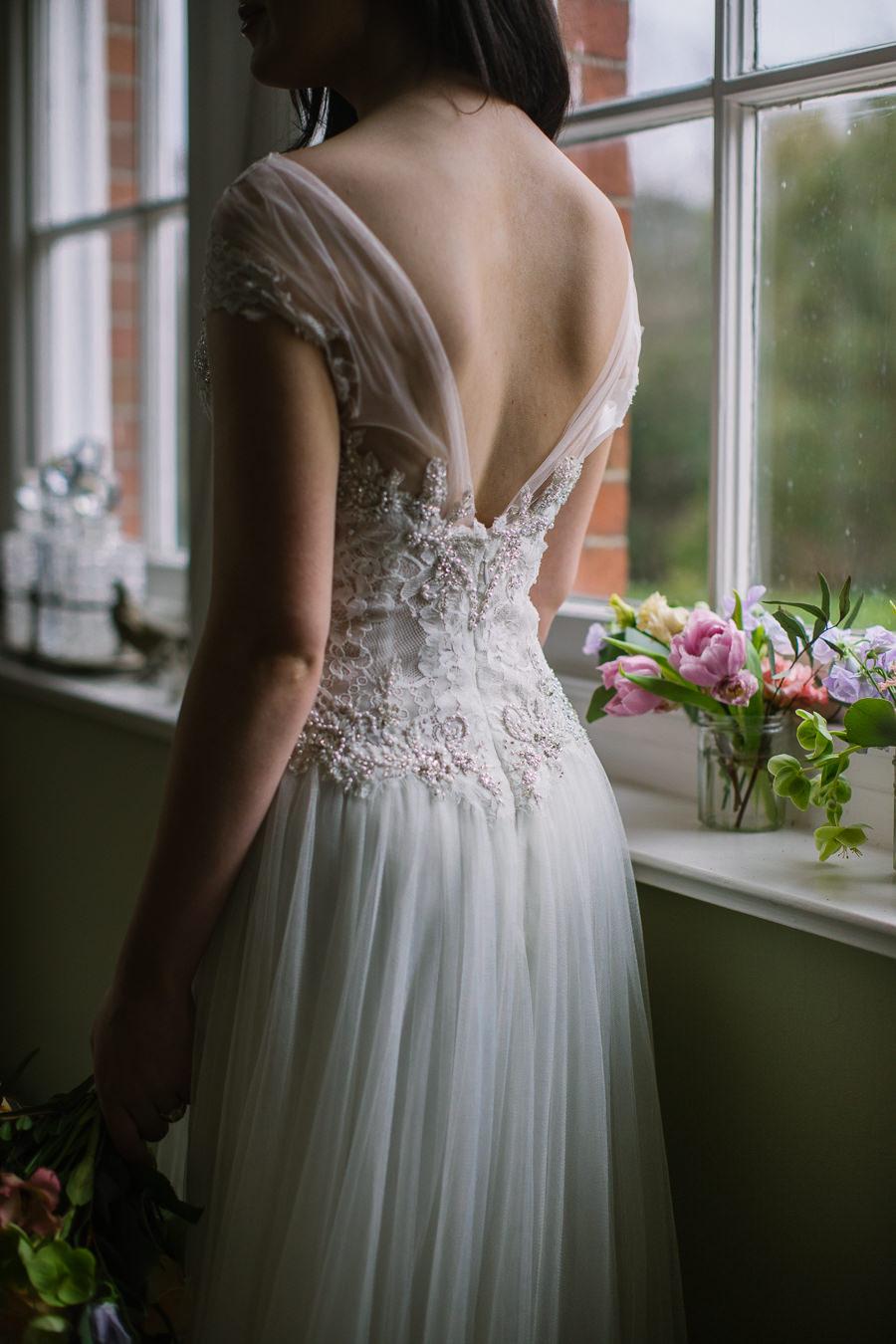 'Understated Elegance' Spring Styled Hampshire Bridal Shoot – Rownhams House, photo credit Nisha Haq Photography (9)
