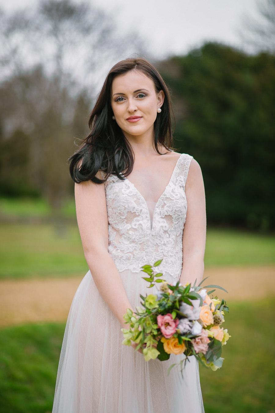 'Understated Elegance' Spring Styled Hampshire Bridal Shoot – Rownhams House, photo credit Nisha Haq Photography (20)