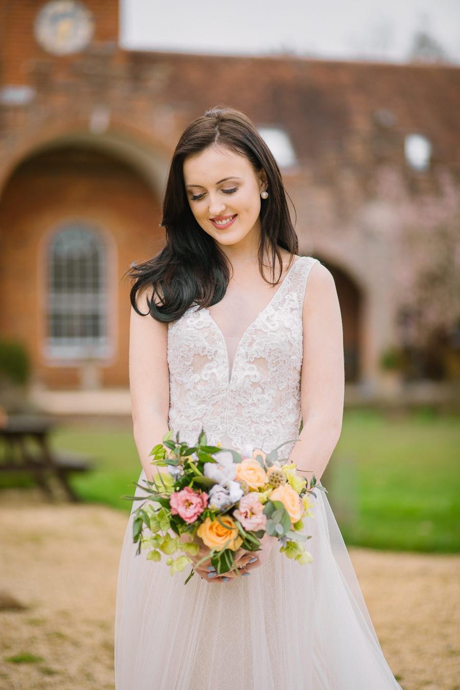 'Understated Elegance' Spring Styled Hampshire Bridal Shoot – Rownhams House, photo credit Nisha Haq Photography (21)