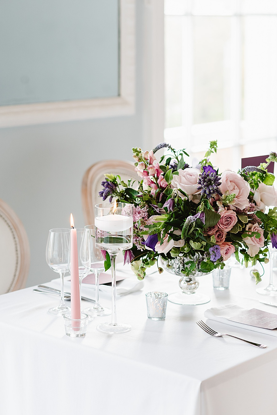 chic, contemporary London wedding style with amazing florals. Image credit Fiona Kelly Photography (14)