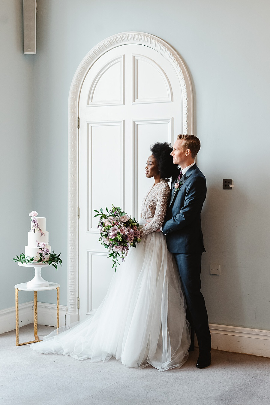 chic, contemporary London wedding style with amazing florals. Image credit Fiona Kelly Photography (49)