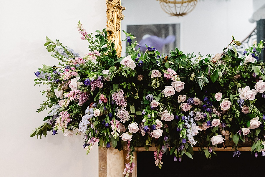 chic, contemporary London wedding style with amazing florals. Image credit Fiona Kelly Photography (50)
