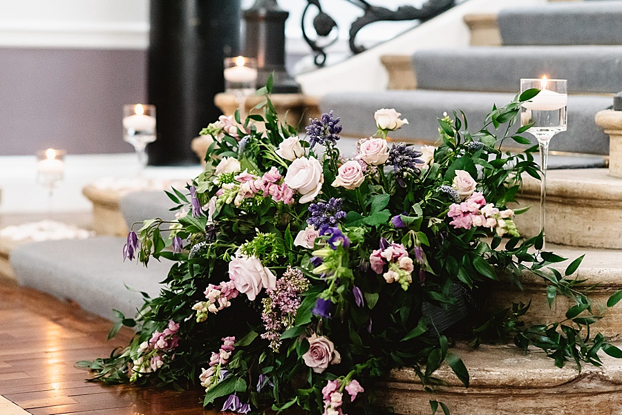 chic, contemporary London wedding style with amazing florals. Image credit Fiona Kelly Photography (34)