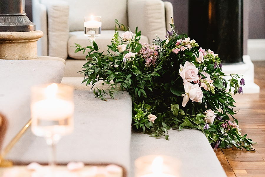 chic, contemporary London wedding style with amazing florals. Image credit Fiona Kelly Photography (36)