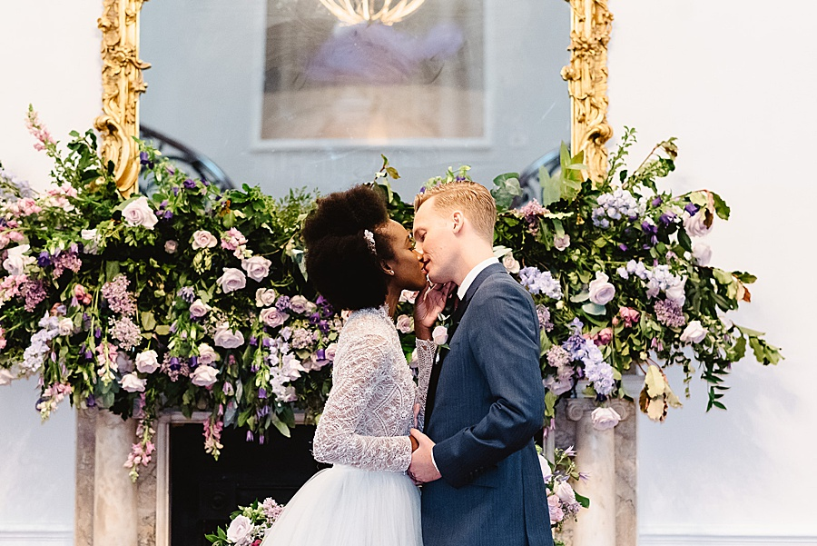 chic, contemporary London wedding style with amazing florals. Image credit Fiona Kelly Photography (40)