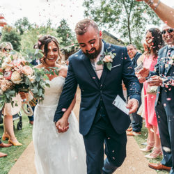 Hayden & Rabia's outdoorsy, natural wedding in Looe, with Tracey Warbey Photography