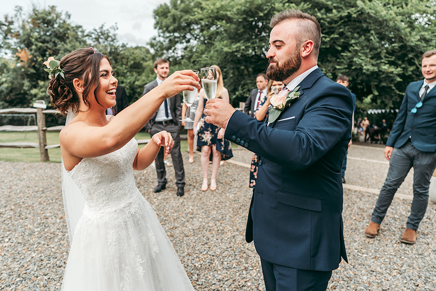 Hayden & Rabia's outdoorsy, natural wedding in Looe, with Tracey Warbey Photography (36)
