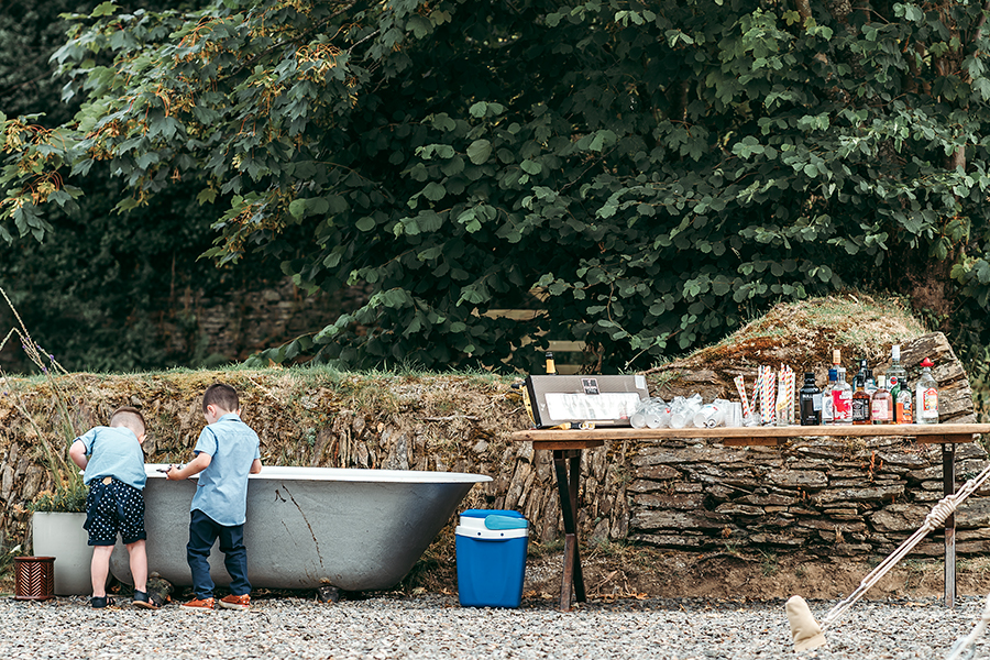Hayden & Rabia's outdoorsy, natural wedding in Looe, with Tracey Warbey Photography (46)
