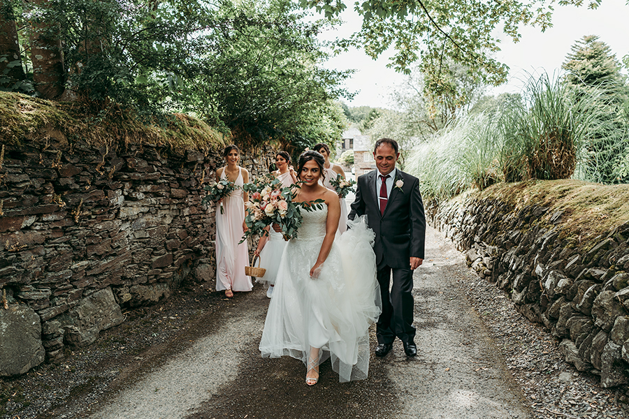 Hayden & Rabia's outdoorsy, natural wedding in Looe, with Tracey Warbey Photography (19)