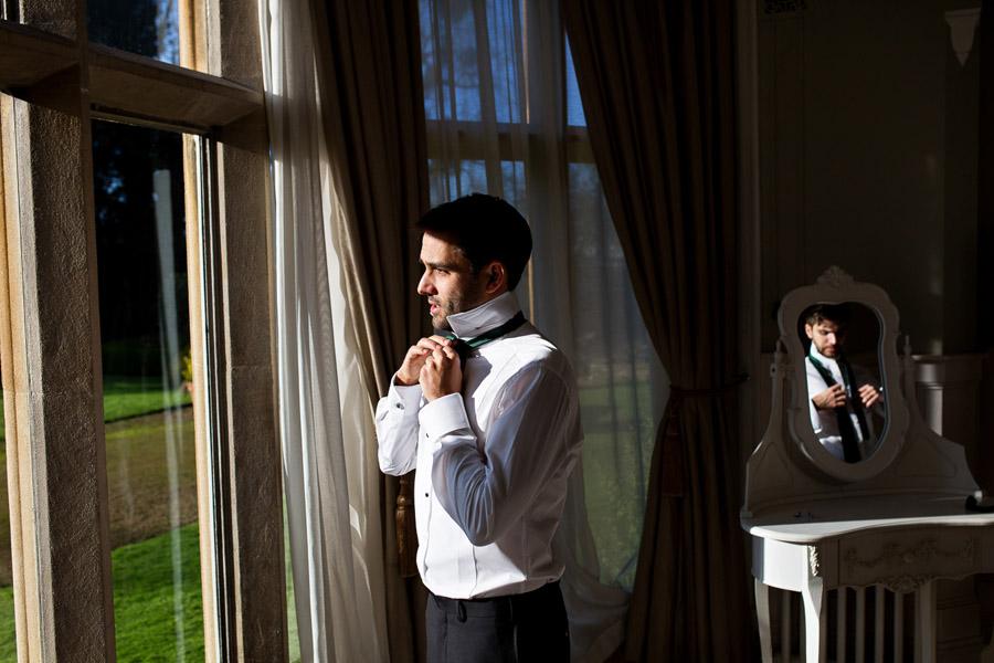 Emma & Adam's minimal, classic and elegant wedding, Manor by the Lake wedding photographer Martin Dabek Photography (3)