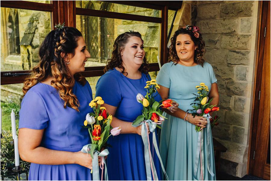 Colour EVERYWHERE for Jade & Matt's spring wedding, with J S Coates Wedding Photography (9)