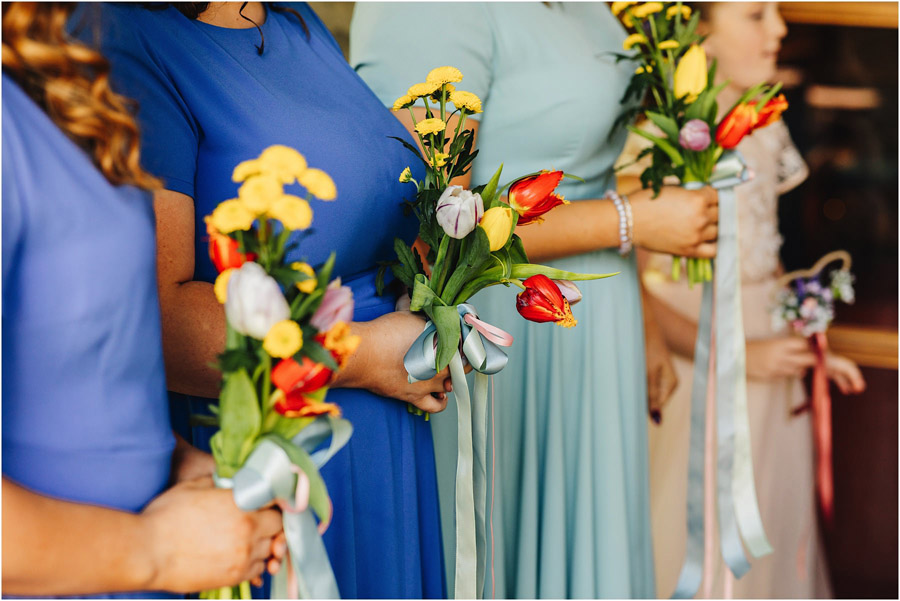 Colour EVERYWHERE for Jade & Matt's spring wedding, with J S Coates Wedding Photography (10)