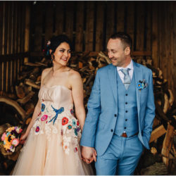 Colour EVERYWHERE for Jade & Matt's spring wedding, with J S Coates Wedding Photography