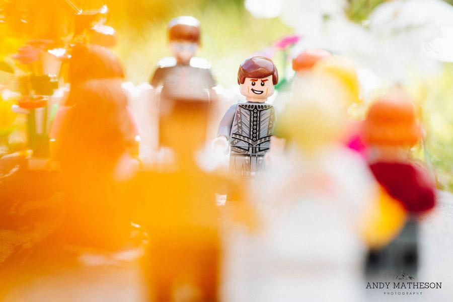 Beautiful lego wedding under lockdown, by Andy Matheson - Yorkshire wedding photographer on English-Wedding.com (12)