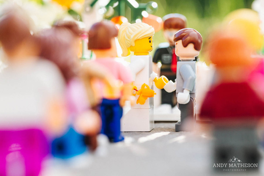 Beautiful lego wedding under lockdown, by Andy Matheson - Yorkshire wedding photographer on English-Wedding.com (13)