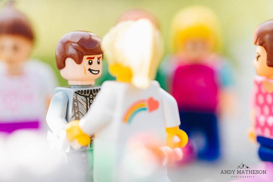 Beautiful lego wedding under lockdown, by Andy Matheson - Yorkshire wedding photographer on English-Wedding.com (1)