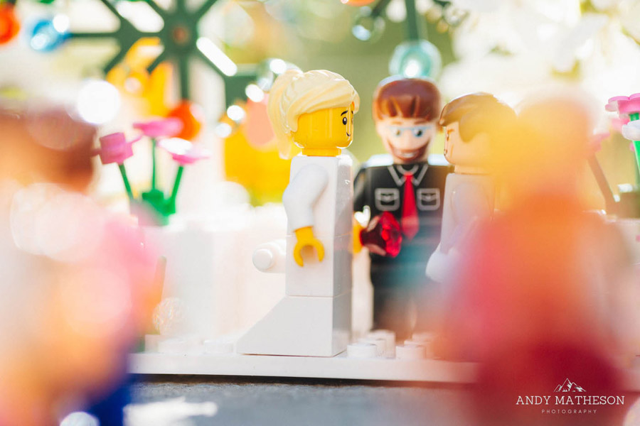 Beautiful lego wedding under lockdown, by Andy Matheson - Yorkshire wedding photographer on English-Wedding.com (15)