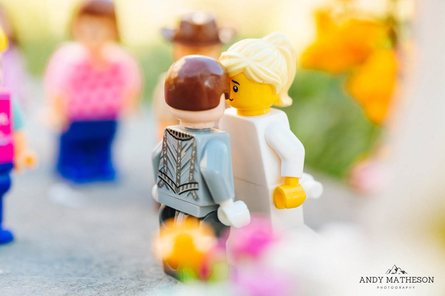 Beautiful lego wedding under lockdown, by Andy Matheson - Yorkshire wedding photographer on English-Wedding.com (18)