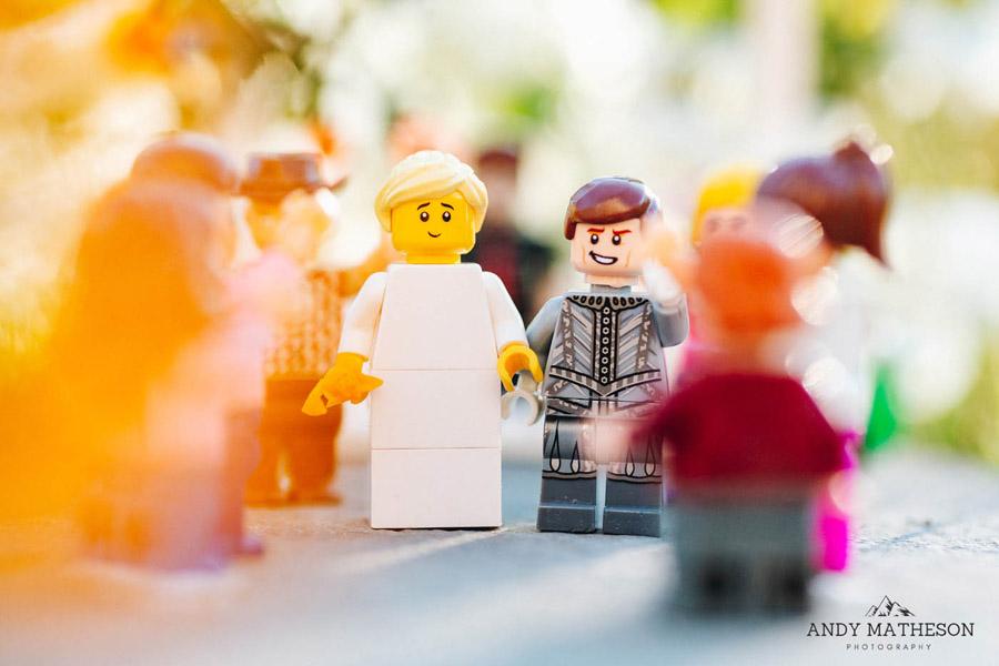 Beautiful lego wedding under lockdown, by Andy Matheson - Yorkshire wedding photographer on English-Wedding.com (19)