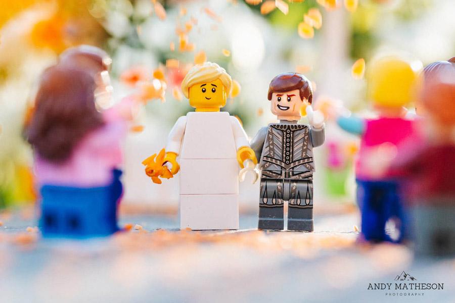 Beautiful lego wedding under lockdown, by Andy Matheson - Yorkshire wedding photographer on English-Wedding.com (20)