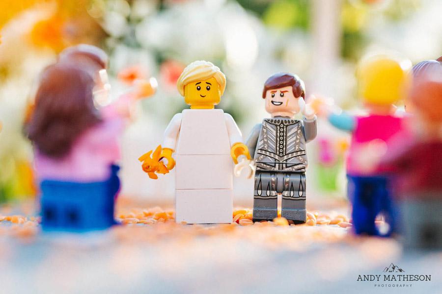 Beautiful lego wedding under lockdown, by Andy Matheson - Yorkshire wedding photographer on English-Wedding.com (21)