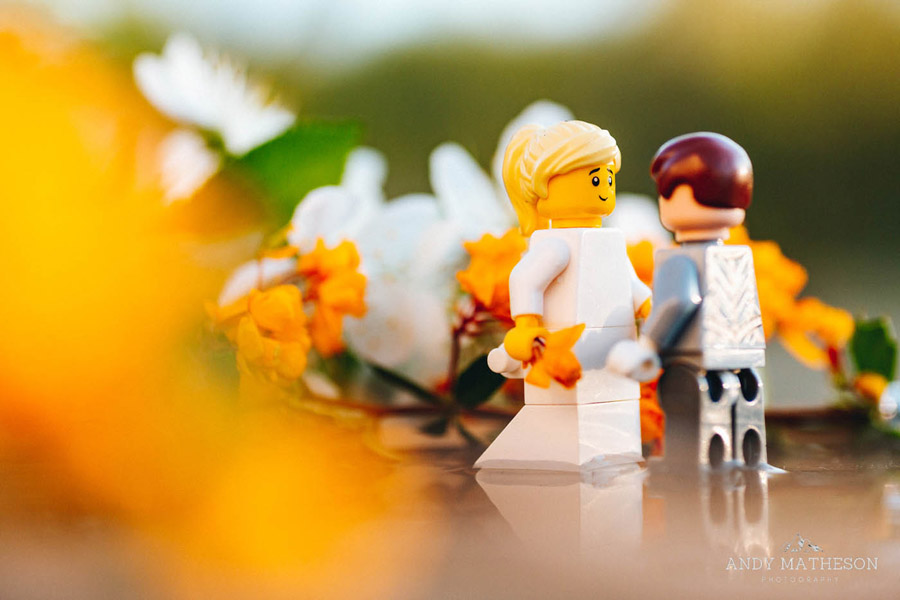 Beautiful lego wedding under lockdown, by Andy Matheson - Yorkshire wedding photographer on English-Wedding.com (24)