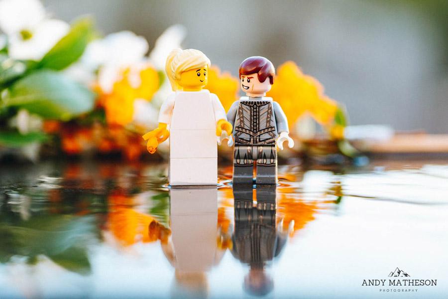 Beautiful lego wedding under lockdown, by Andy Matheson - Yorkshire wedding photographer on English-Wedding.com (25)