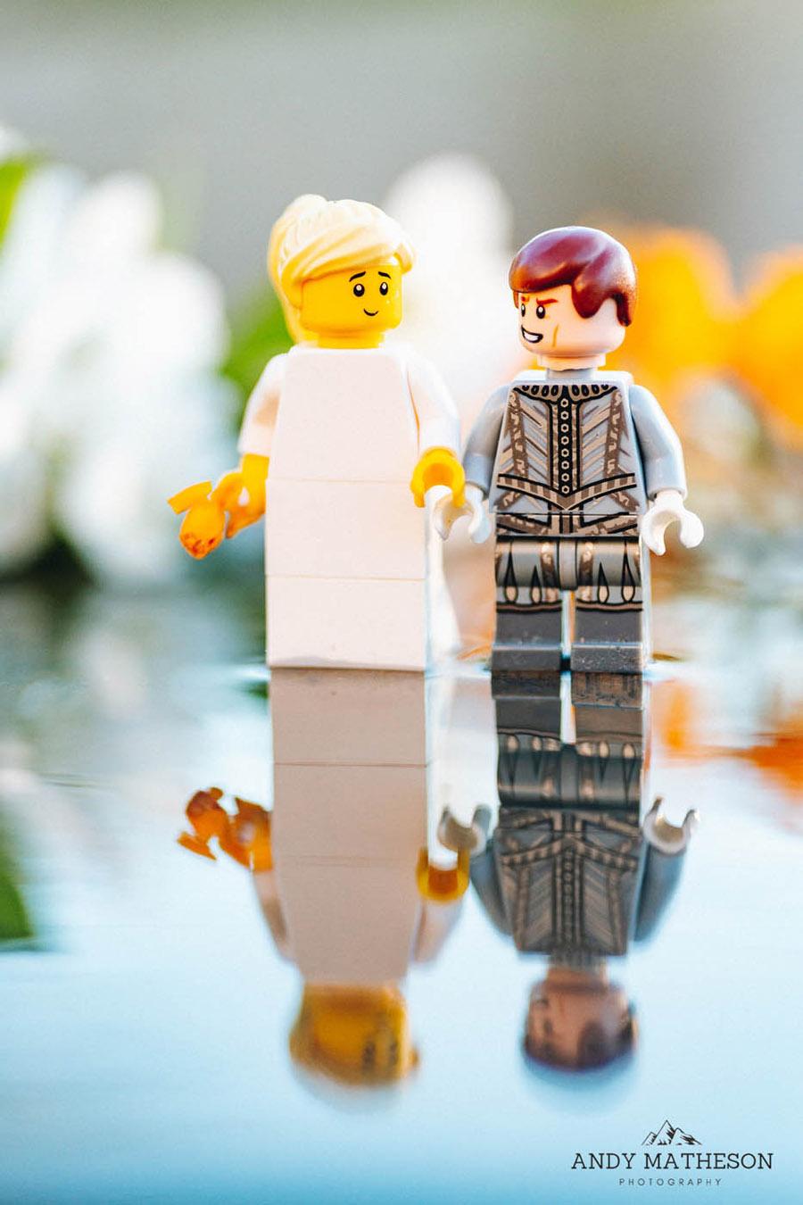 Beautiful lego wedding under lockdown, by Andy Matheson - Yorkshire wedding photographer on English-Wedding.com (26)