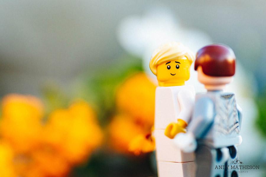 Beautiful lego wedding under lockdown, by Andy Matheson - Yorkshire wedding photographer on English-Wedding.com (27)
