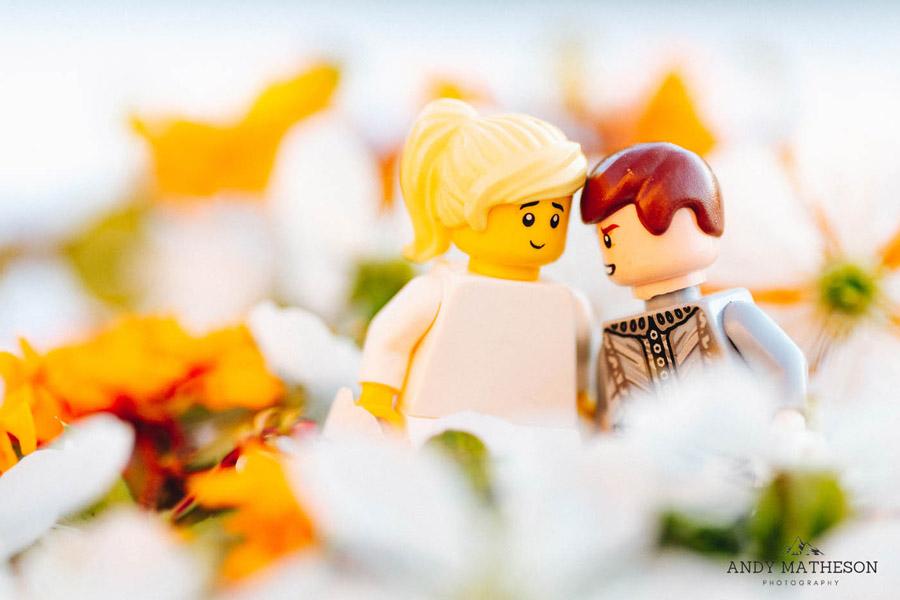 Beautiful lego wedding under lockdown, by Andy Matheson - Yorkshire wedding photographer on English-Wedding.com (29)