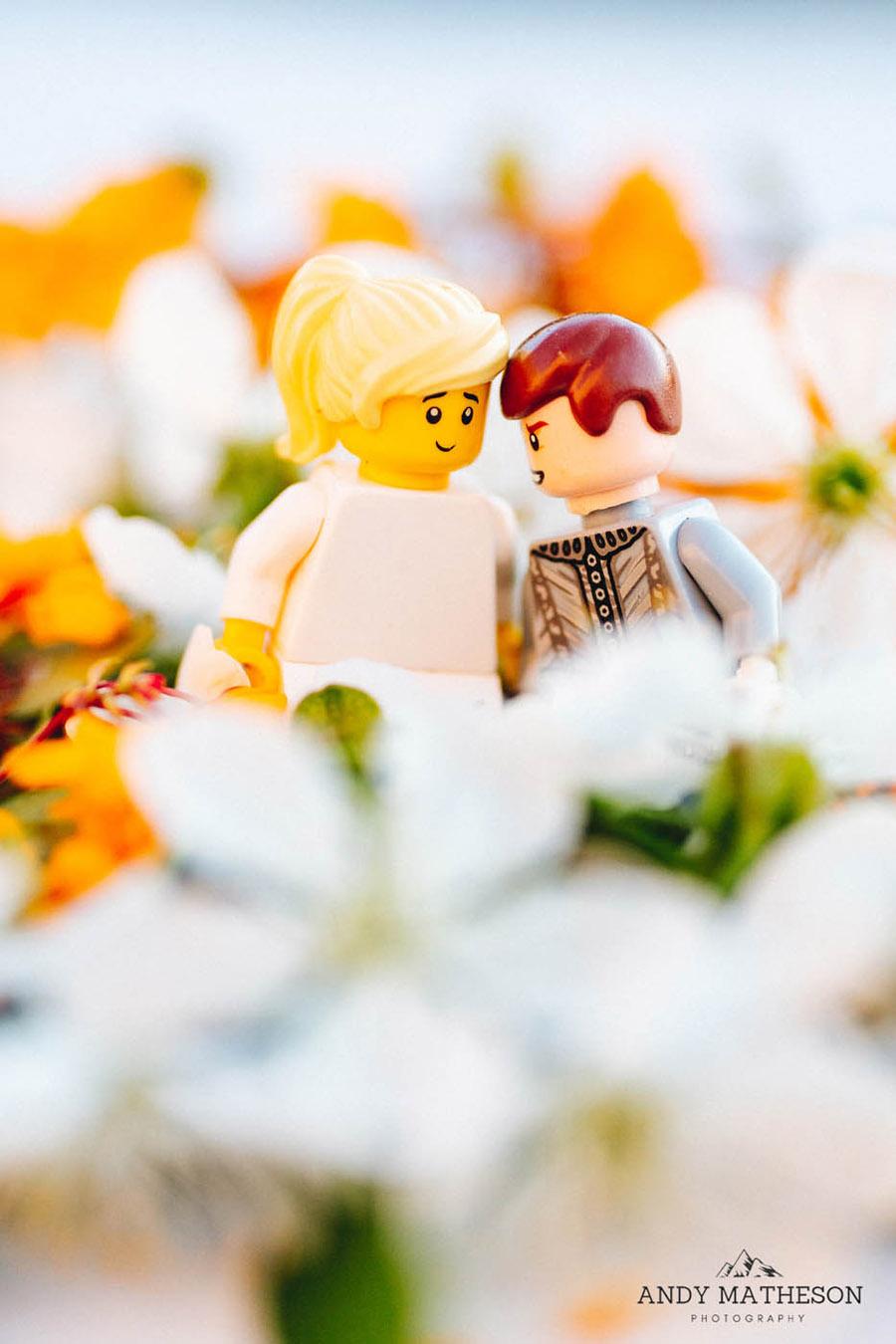 Beautiful lego wedding under lockdown, by Andy Matheson - Yorkshire wedding photographer on English-Wedding.com (30)