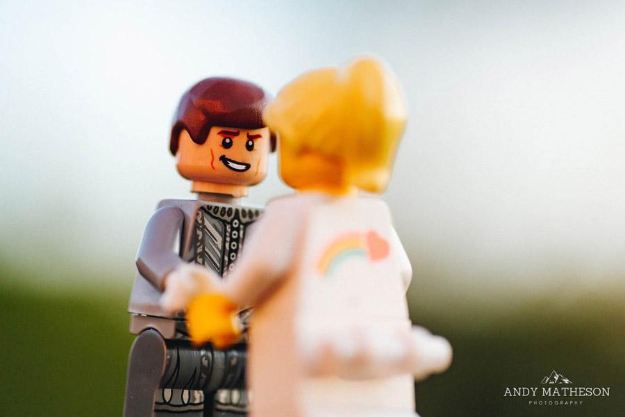 Beautiful lego wedding under lockdown, by Andy Matheson - Yorkshire wedding photographer on English-Wedding.com (31)
