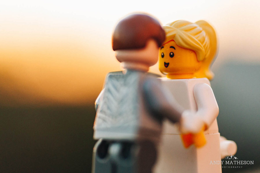 Beautiful lego wedding under lockdown, by Andy Matheson - Yorkshire wedding photographer on English-Wedding.com (32)