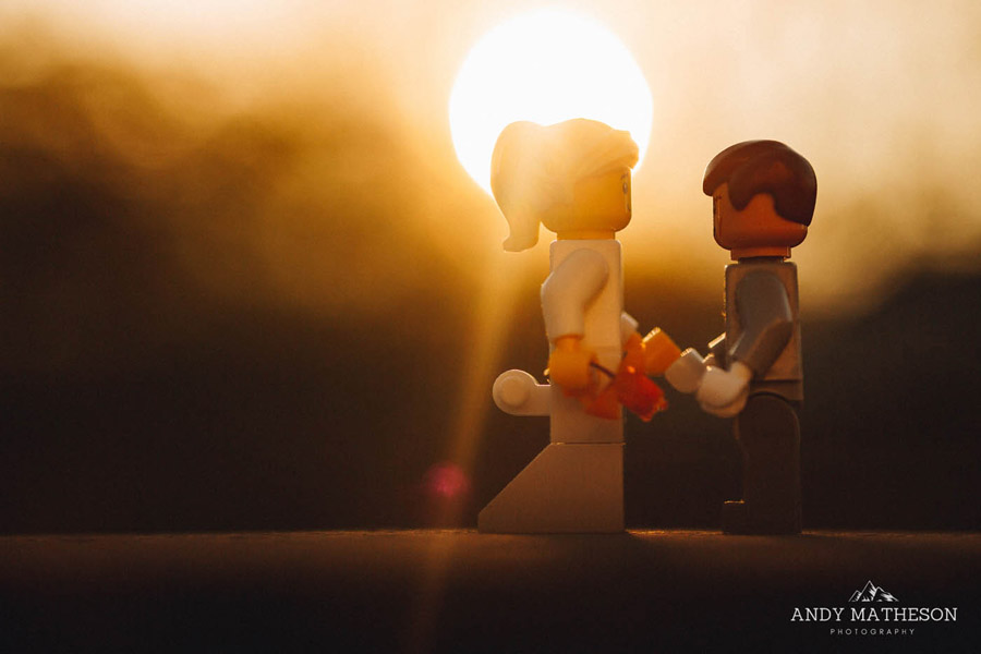 Beautiful lego wedding under lockdown, by Andy Matheson - Yorkshire wedding photographer on English-Wedding.com (37)