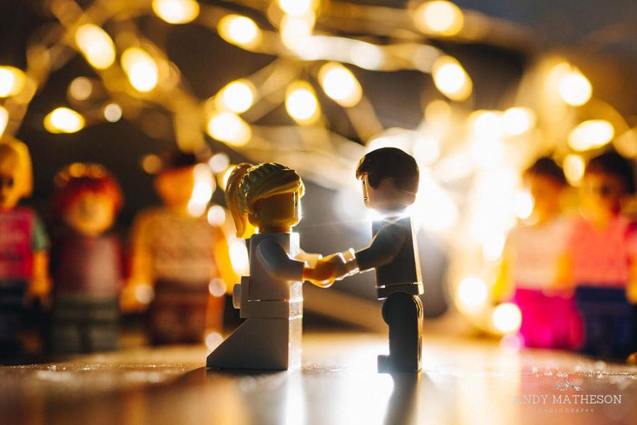 Beautiful lego wedding under lockdown, by Andy Matheson - Yorkshire wedding photographer on English-Wedding.com (38)