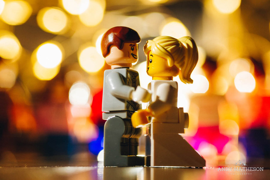 Beautiful lego wedding under lockdown, by Andy Matheson - Yorkshire wedding photographer on English-Wedding.com (39)