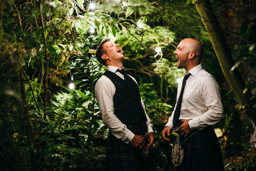 Rob and Kevin share a joke at Tonedale House Wellington by Simon Biffen Photography